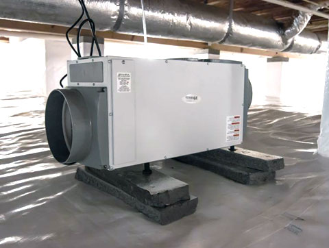 Salisbury, NC Crawl Space Dehumidifiers
